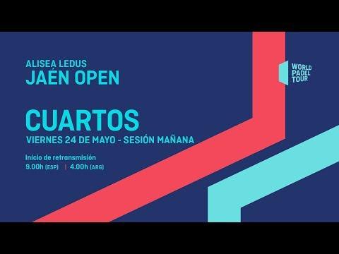Cuartos de final femeninos - Alisea Ledus Jaén Open 2019 - World Padel Tour