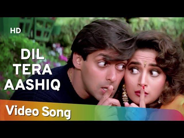 Dil Tera Aashiq | Dil Tera Aashiq (1993) | Salman Khan | Madhuri Dixit |Kumar Sanu |Alka Yagnik