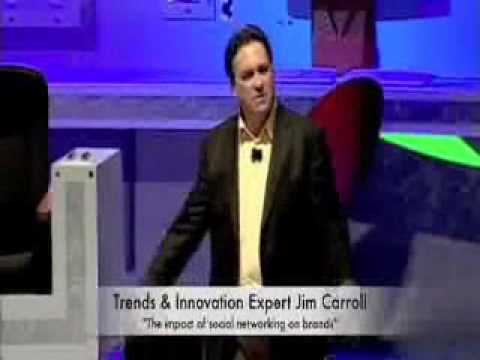 Jim Carroll Speaker at Speakers Academy®  - The Impact of Social Networking on Brands