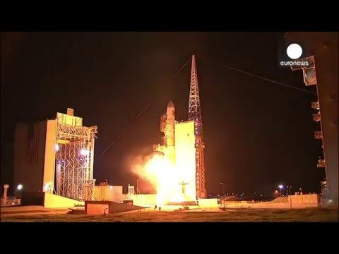 "Delta IV rocket launches with ""classified payload"" on board, California"