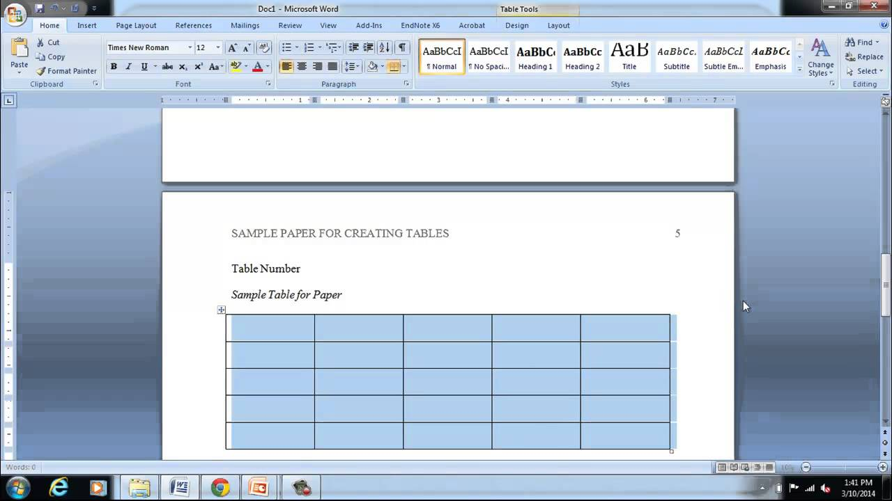 part 5 formatting ms word 2010 in apa 6th edition citation