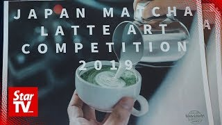 World's first matcha latte art competition - hipster barista heaven