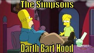 The Simpsons Bart Hood S 27 E 9 Art Darth Simpson