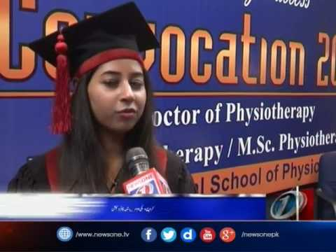 78 degrees conferred on graduates of LNH School of Physiotherapy