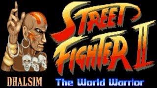 Street Fighter II - The World Warrior - Dhalsim (Arcade)