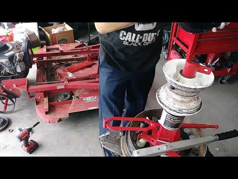 Harbor Freight Mini Tire Changer (Pt.2)