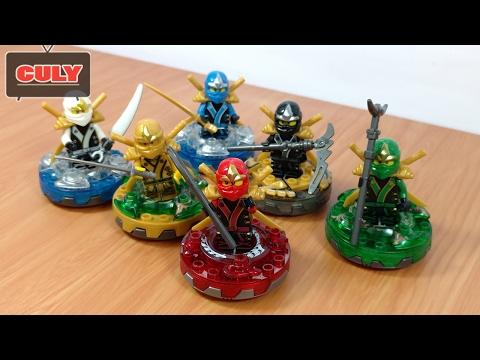 Trọn bộ 6 anh em Lego Ninjago đồ chơi trẻ em