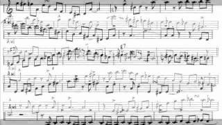 """Dan Higgins' clarinet solo on """"Jam Tune 1"""" [TRANSCRIPTION]"""