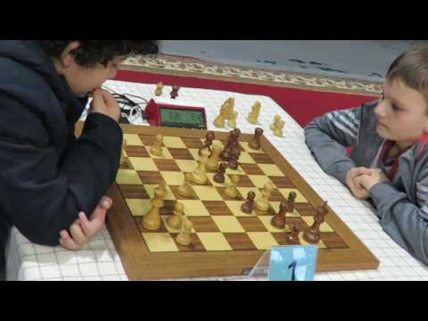 2017-06-04  Daneshvar B - Girshgorn L 1-st Cadet Chess Rapid World Championship