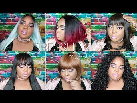Affordable Wig Try-On! | DressLily