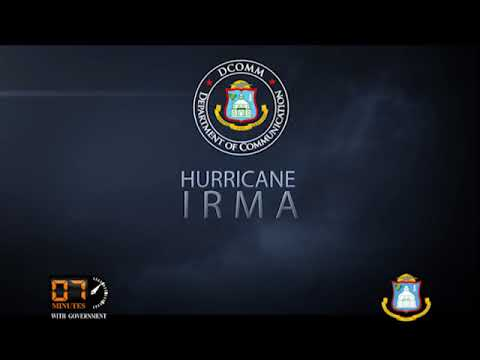 30 MINUTES WITH GOVERNMENT - HURRICANE IRMA UPDATE