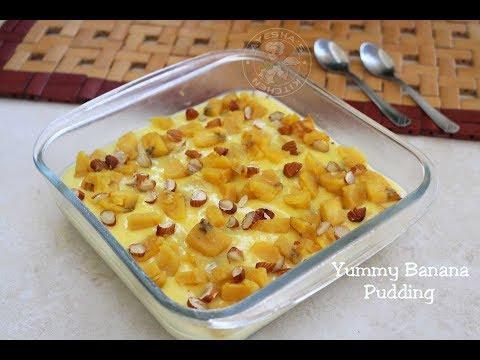 Yummy Banana pudding / ഏത്തക്കായ പുഡ്ഡിംഗ്