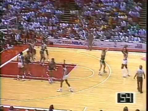 1986 NBA Finals Celtics vs. Rockets (At Houston) Game 4 PART 2 GOOD AUDIO