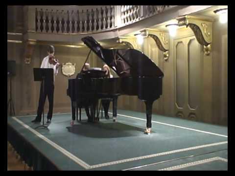 Vlad Stanculeasa & Sergiu Tuhuțiu - Tziganne by Ravel