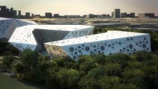 Sheikh Jaber Al Ahmad Cultural Centre and Al Salam Palace by SSH