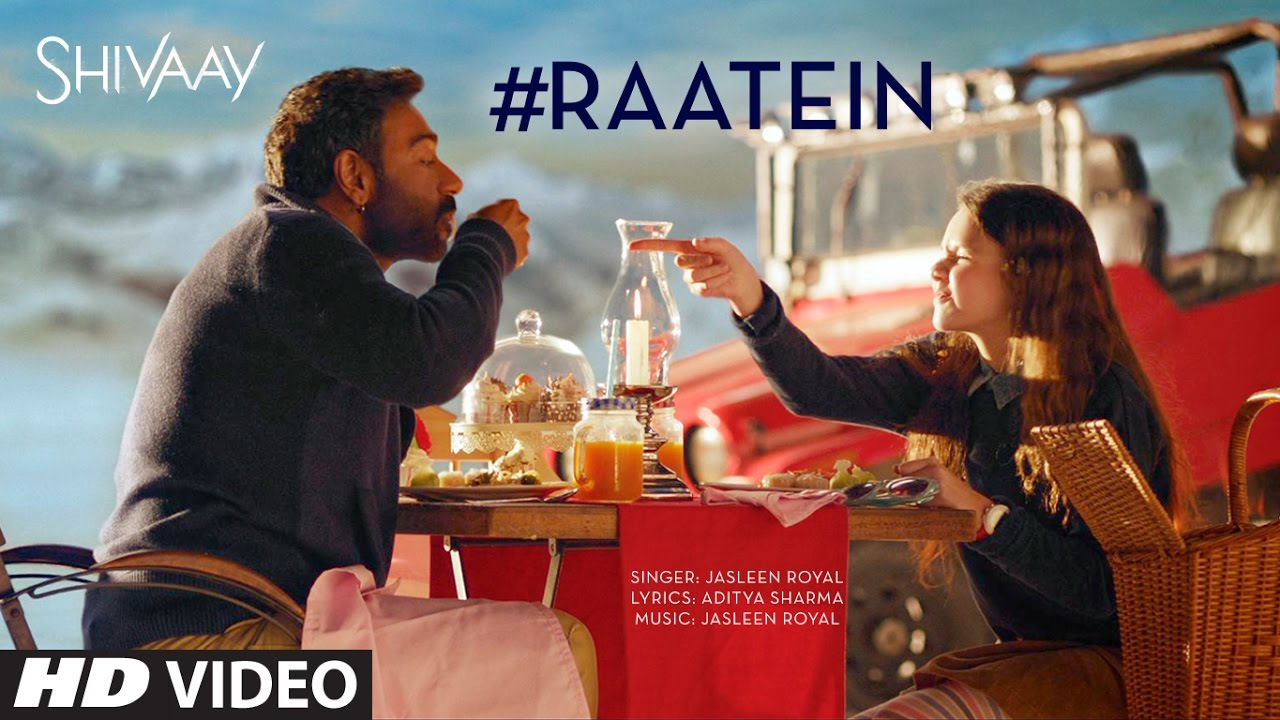 RAATEIN Video Song | SHIVAAY | Jasleen Royal | Ajay Devgn | T-Series