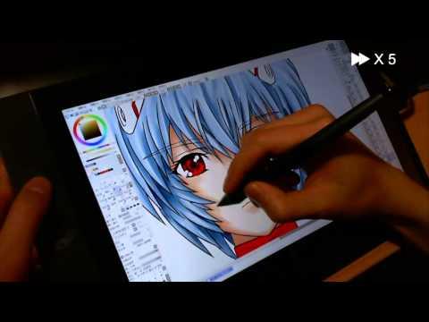Cintiq13hd Speed Paint Youtube