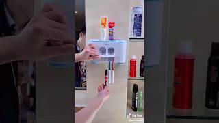 Automatischer Zahnpastaspender mit Zahnbürstenhalter von Ecoco