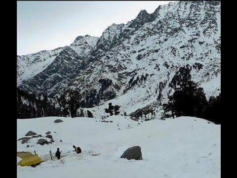 Triund Hill to Snowline Trek Part-3 ( McLeod Ganj to Snowline--Dhramshala--Himichal Pradesh--India)