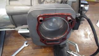 видео Распредвал, Клапана на двигатель Honda GX 120
