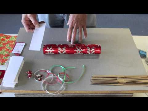 How to make Christmas Crackers by Olde English Crackers