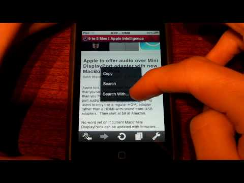 Opera Mini for iPhone and iPod touch Review