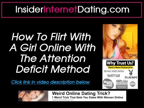 how to flirt with a girl online dating