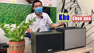 Nên mua Loa kéo Acnos 200PU hay 250PU với Tầm giá rẻ 3 Triệu để karaoke?