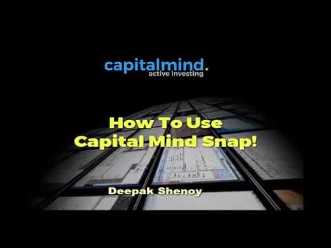Webinar: How to use Capital Mind Snap!