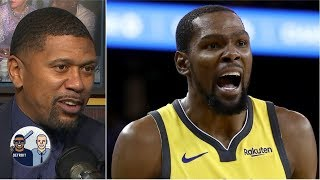 Kevin Durant 'is not playing the villain role well' - Jalen Rose | Jalen & Jacoby