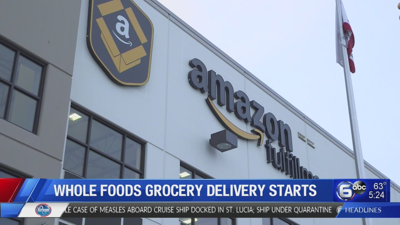 Whole Foods, Amazon expanding grocery delivery service