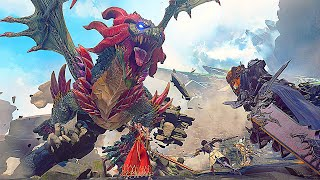 Granblue Fantasy Relink Dragon Boss Fight NEW Gameplay Demo (2020)