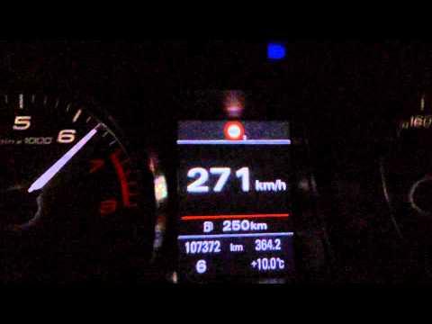 AUDI S5 2008 STOCK Top Speed: 190-271 km/h