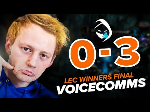 A TOUGH LEC DAY FOR ROGUE   Rogue Voicecomms LEC Summer 2021 Winner's Final