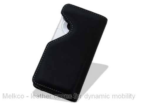 Melkco Leather Case for LG GC900 Viewty Smart - Horizontal Holder