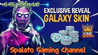 Galaxy skin... I HAVE IT BRALEEEE! -Fortnite Balkan + 645 Pobjeda!!! -Objective 1900 Subova-#297
