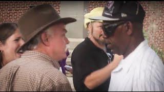 Confederate flag protestors clash in Gainesville, Florida: