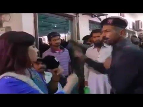 On cam: Pak FC trooper slaps female journalist in Karachi