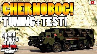 🚘🛠Unendlich Raketen! CHERNOBOG Tuning + Test!🛠🚘 [GTA 5 Online Doomsday Heist Update DLC]