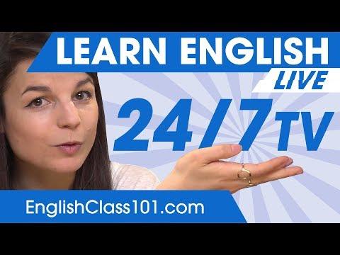 Learn English 24/7 with EnglishClass101 TV 🔴
