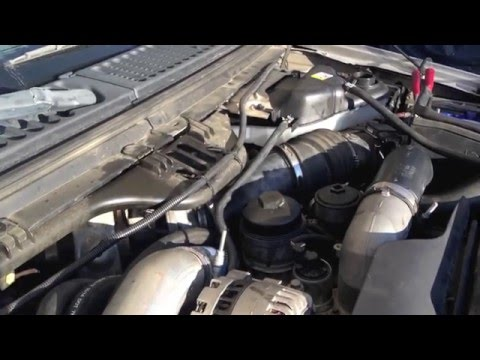 Bulletproof Diesel's remote mounted oil cooler install on a 6.0 Powerstroke