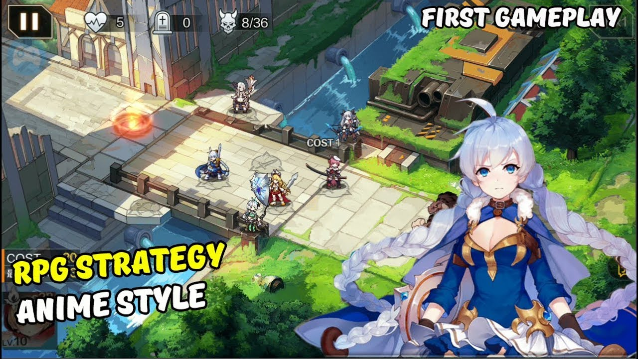 10 project rpg strategy anime style addicting games android gameplay