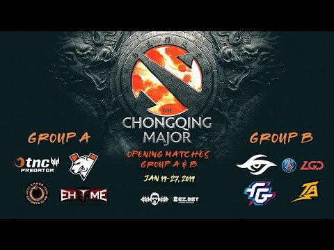 [DOTA 2 LIVE PH] TnC Predator VS EHOME | Bo3 |The Chongqing Major DAY 1