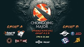 [DOTA 2 LIVE PH] TnC Predator VS EHOME | Bo3 |The Chongqing Major DAY 1