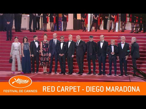 DIEGO MARADONA - Red Carpet - Cannes 2019 - EV