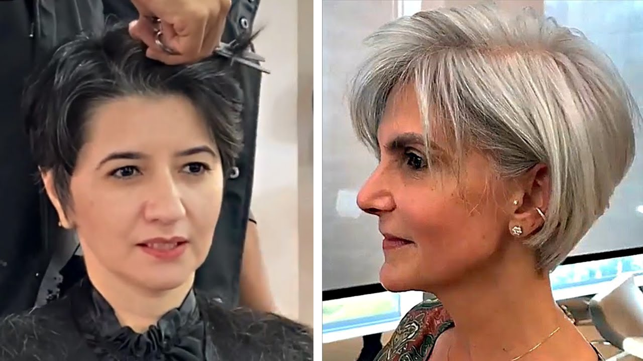 Top Of The Most Facncy Hairstyles For Over 50 😍 Hair Trending 2020 By Professional 2020