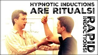 Hypnosis Inductions as Rituals - Rapid Inductions.