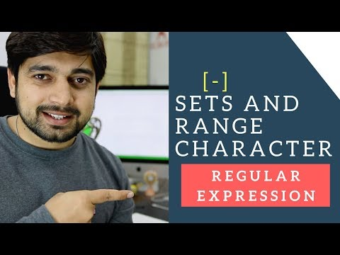 Character Sets and Ranges in Regular Expressions
