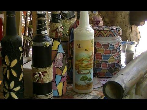 Kerajinan Tangan Dari Botol Bekas Sirup