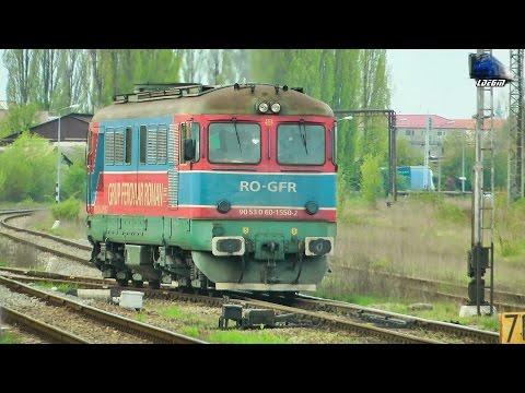 060-DA/LDE2100 60-1550-2 RO-GFR in Oradea Est Triaj/Shunting Yard - [Spring Edition] - 05 April 2017